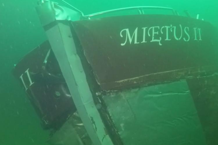 Mietus II Polsk fiskerbåd Vragdyk Bornholm Baltic Sea Guide